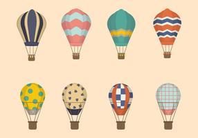 Vecteurs à ballon à air plat
