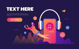streaming de musique en ligne sur Internet