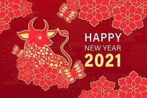 nouvel an chinois 2021 année du bœuf