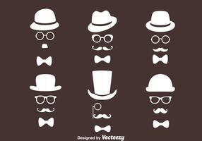 Vecteurs de collection de style rétro Old Man