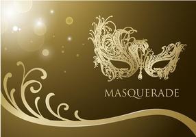 Masquerade Ball Mask Free Vector