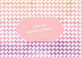 Vector Watercolor Chevron Pattern