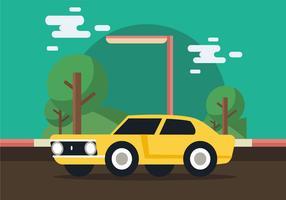 Dodge charger muscle car vecteur