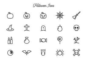 Vecteurs gratuits de Halloween