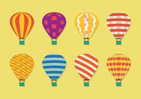 Modèle de ballon d'air vecteur