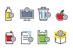 Icône de l'élément de recyclage