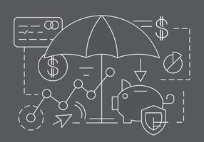 Éléments vectoriels linéaires de finance et de banque