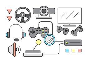 Icônes gratuites de jeu vecteur