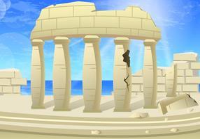 Corinthien grec vecteur