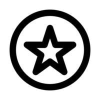 icône de vecteur de notation