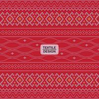 motif géométrique sans couture rouge ulos batak