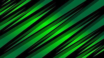 formes angulaires pointues vertes dégradées vecteur