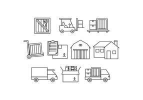 Vecteur d'icône de ligne de déplacement gratuit