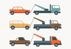 Camion de remorquage Illustration simple