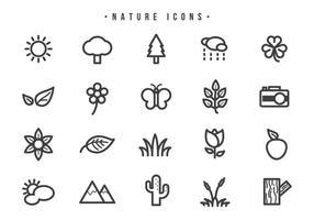 Vecteurs nature naturels vecteur