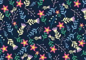 Dipsy Floral Seamless Pattern vecteur
