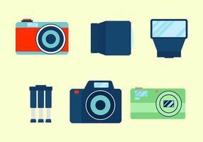 Vecteur icône caméra