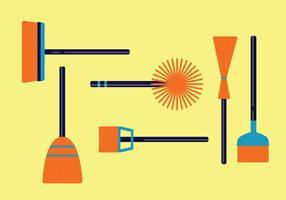 Pack de vecteurs d'outils de balayage vecteur