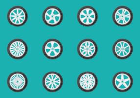 Vecteurs de roues en alliage vecteur