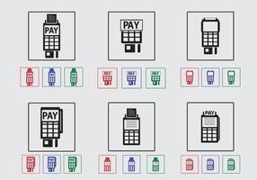 Icône du lecteur de carte de crédit