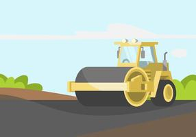 Steamroller Illustration vecteur