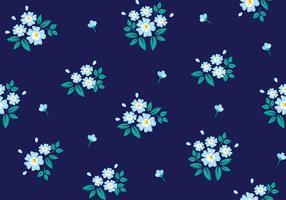 Motif floral sans couture vecteur