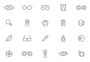 Vecteurs d'optométrie gratuits