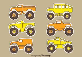 Vecteurs de voiture suv voiture hors pair vecteur