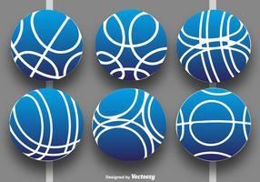 Vector Collection de Bocce Balls