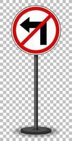 panneau de signalisation rouge vecteur