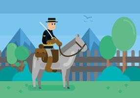 Illustration de cavalerie