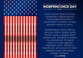 Illustration de l'Indépendance vecteur