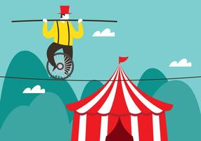 Cirque Tightrope Walker