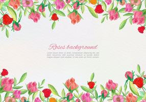 Carte vectorielle à vecteur gratuit Carte florale