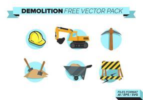 Pack de vecteur gratuit pour démolition