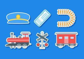Vecteurs de trains gratuits gratuits