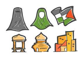 Vecteurs exclusifs de Gaza vecteur