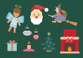 Ensemble de vecteur de Noël