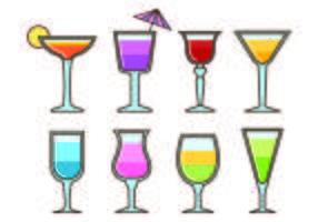 Vecteurs Glass Of Mocktail vecteur