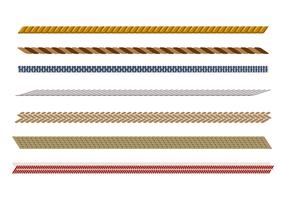 Vecteur de modèle de corde raide