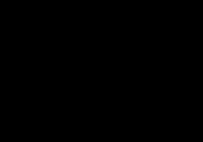 Vecteur de silhouettes de caribou