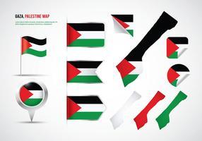 Vecteur de Gaza