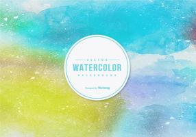Aquarelle Vector Background