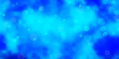 fond bleu clair avec des bulles. vecteur