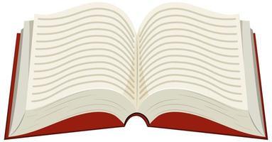livre sur fond blanc