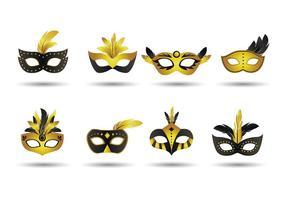 Mascarade masque vecteur