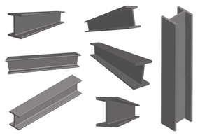 Vignette acier vecteur