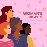 quatre femmes de nationalités différentes