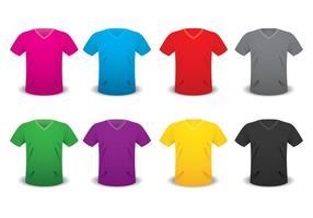 Modèle v shirt