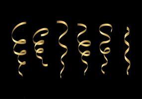 Vecteur gratuit en or serpentine
